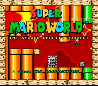 Screenshot Thumbnail / Media File 1 for Super Mario World (USA) [Hack by FPI v1.5] (~Super Mario World - The Second Reality Project)